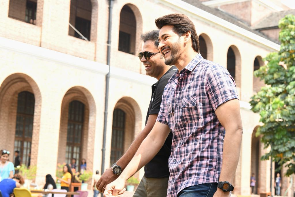 Actor Mahesh Babu 25th Film On Location Stills