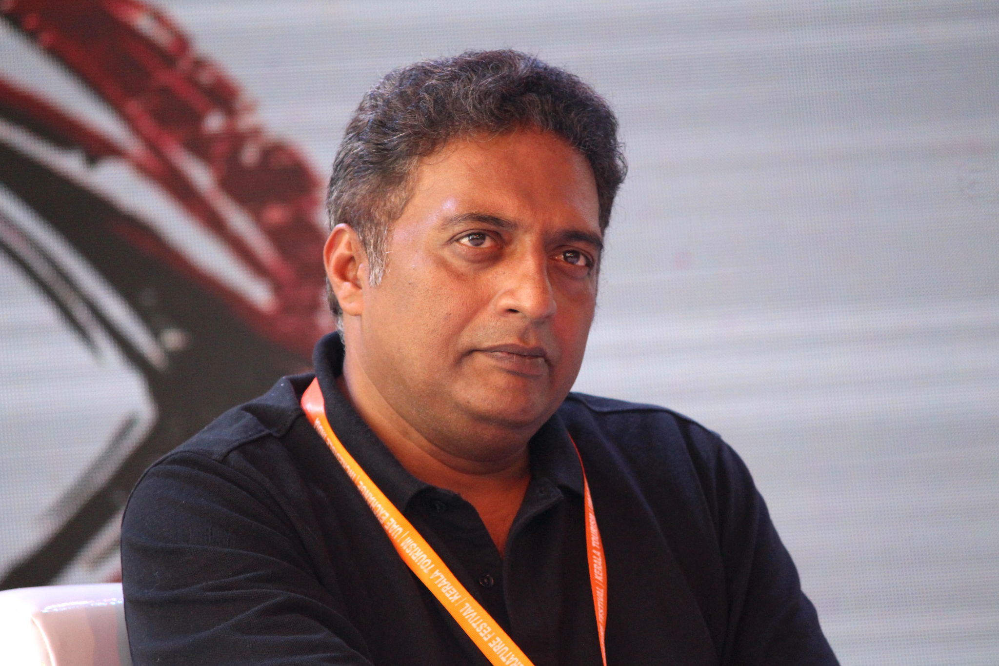 Actor Prakash Raj voice-over for Saakshyam Movie