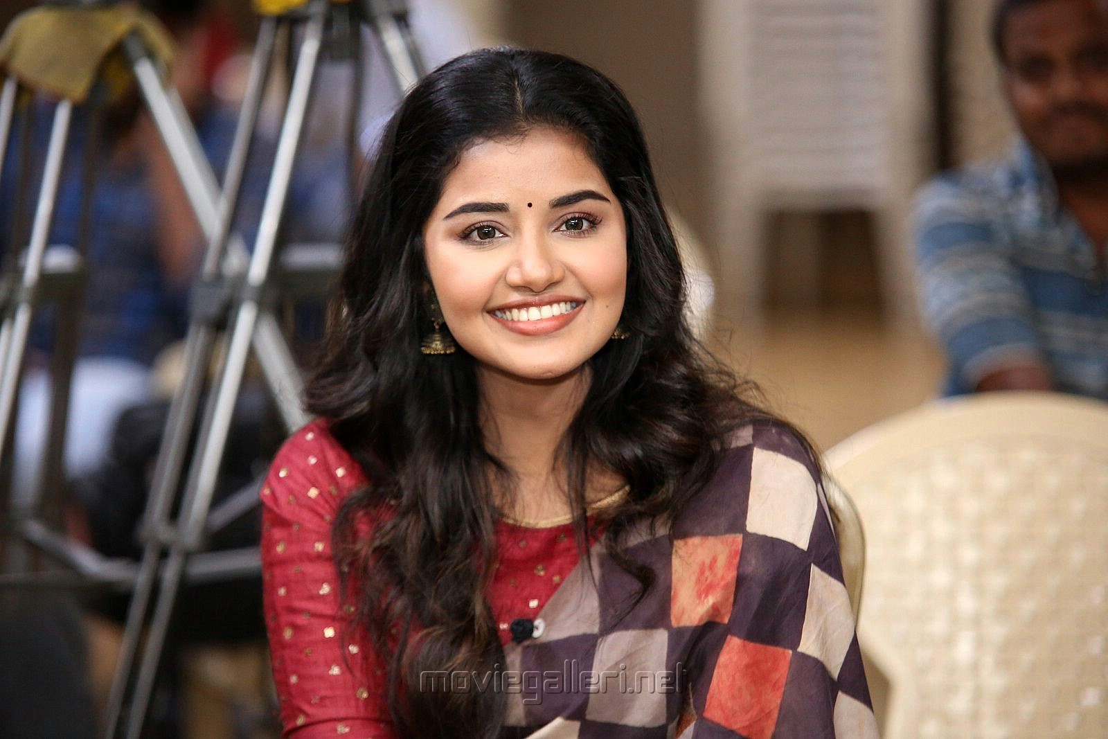 Actress Anupama Parameswaran Images Hd At Tej I Love You Interview