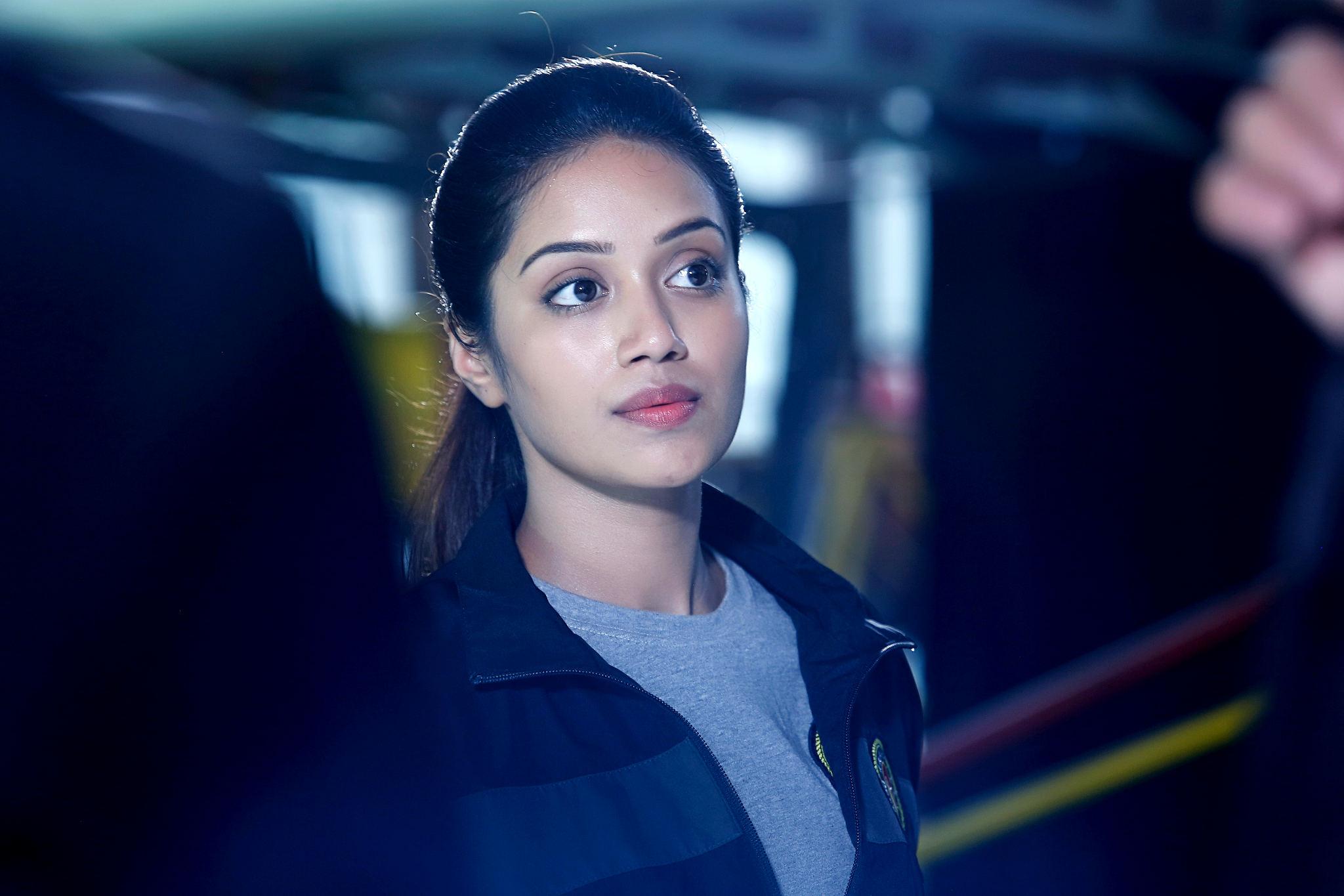 Actress Nivetha Pethuraj is Mrs.Pon Manickavel