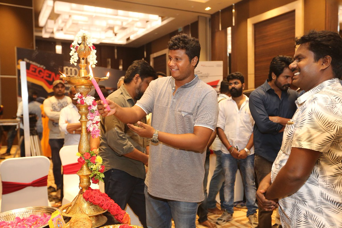 Cinematographer Dinesh Krishnan @ Sivakarthikeyan SK13 Movie Shooting Starts Photos