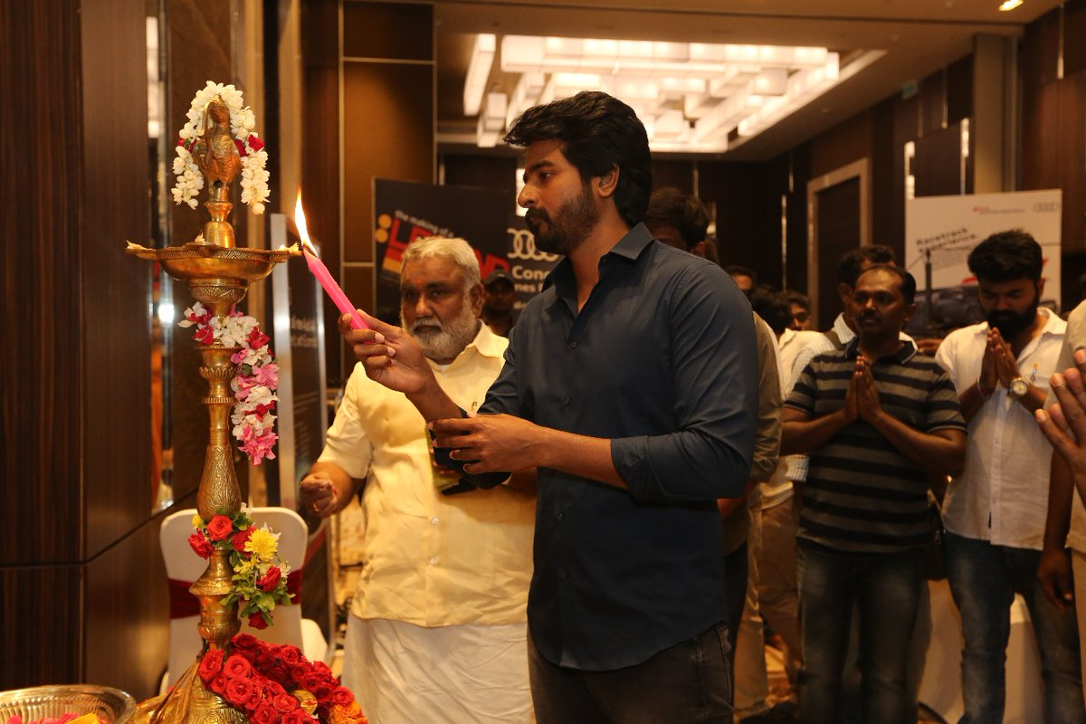 Hero Sivakarthikeyan SK13 Movie Shooting Starts Photos