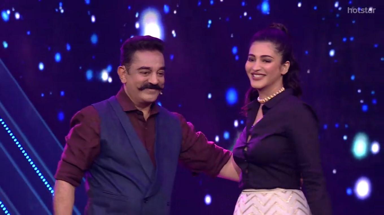 Kamal Shruti Haasan Bigg Boss Tamil Season 2 gains 8.5 crore viewers in first week