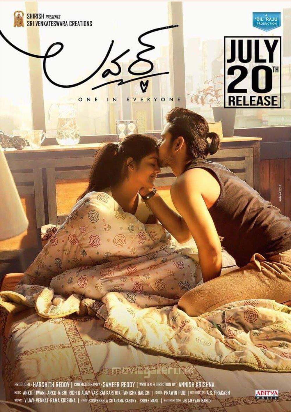 Riddhi Kumar Raj Tarun Lover Movie Release Date July 20th Posters