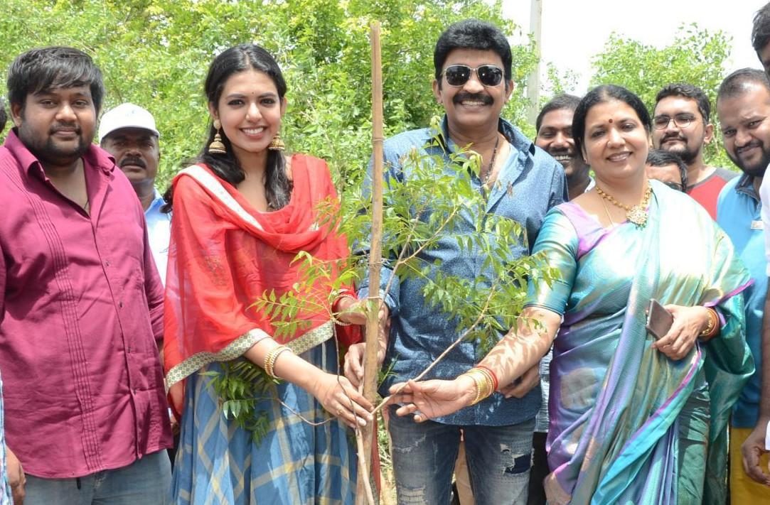 Shivani Rajasekhar participates in Haritha Haram