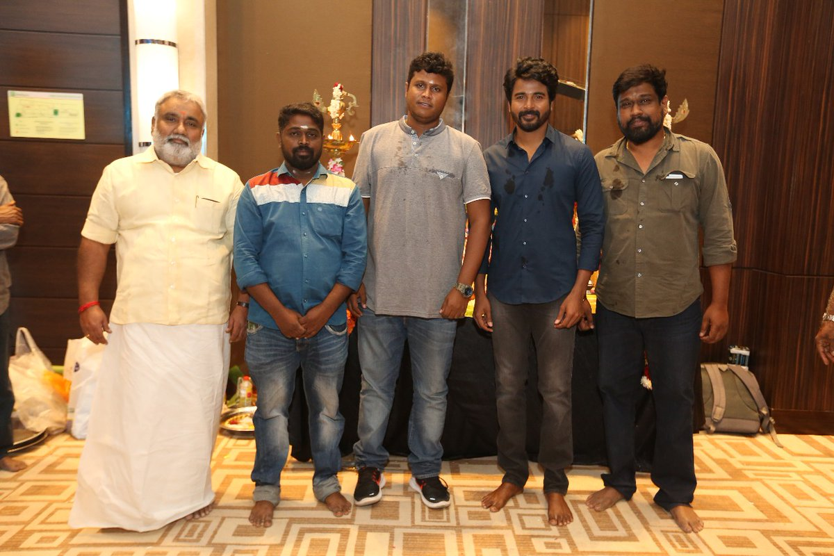 Sivakarthikeyan SK13 Movie Shooting Starts Photos