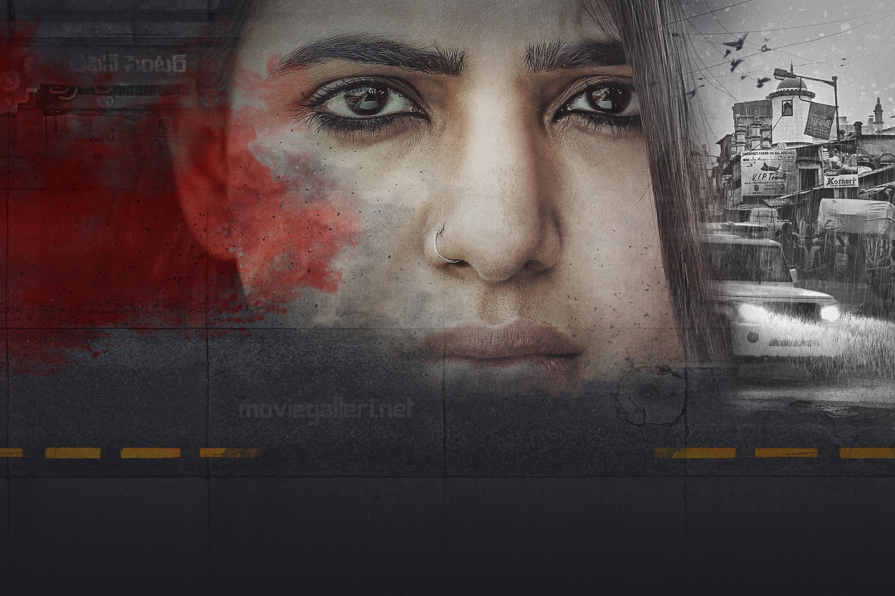 U Turn Movie Samantha First Look Image HD