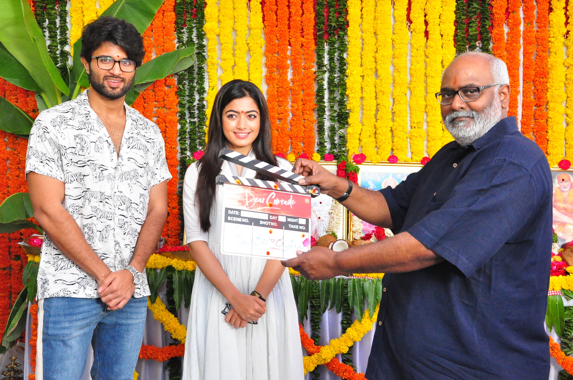Vijay Devarakonda Dear Comrade Movie Launched