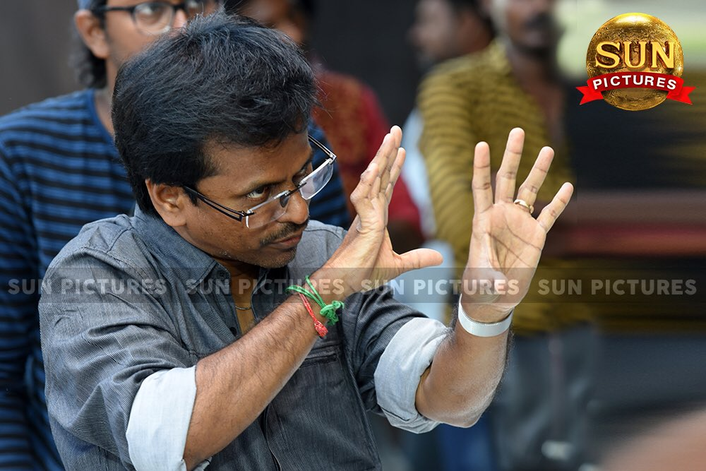 Director AR Murugadoss at Sarkar Working Stills