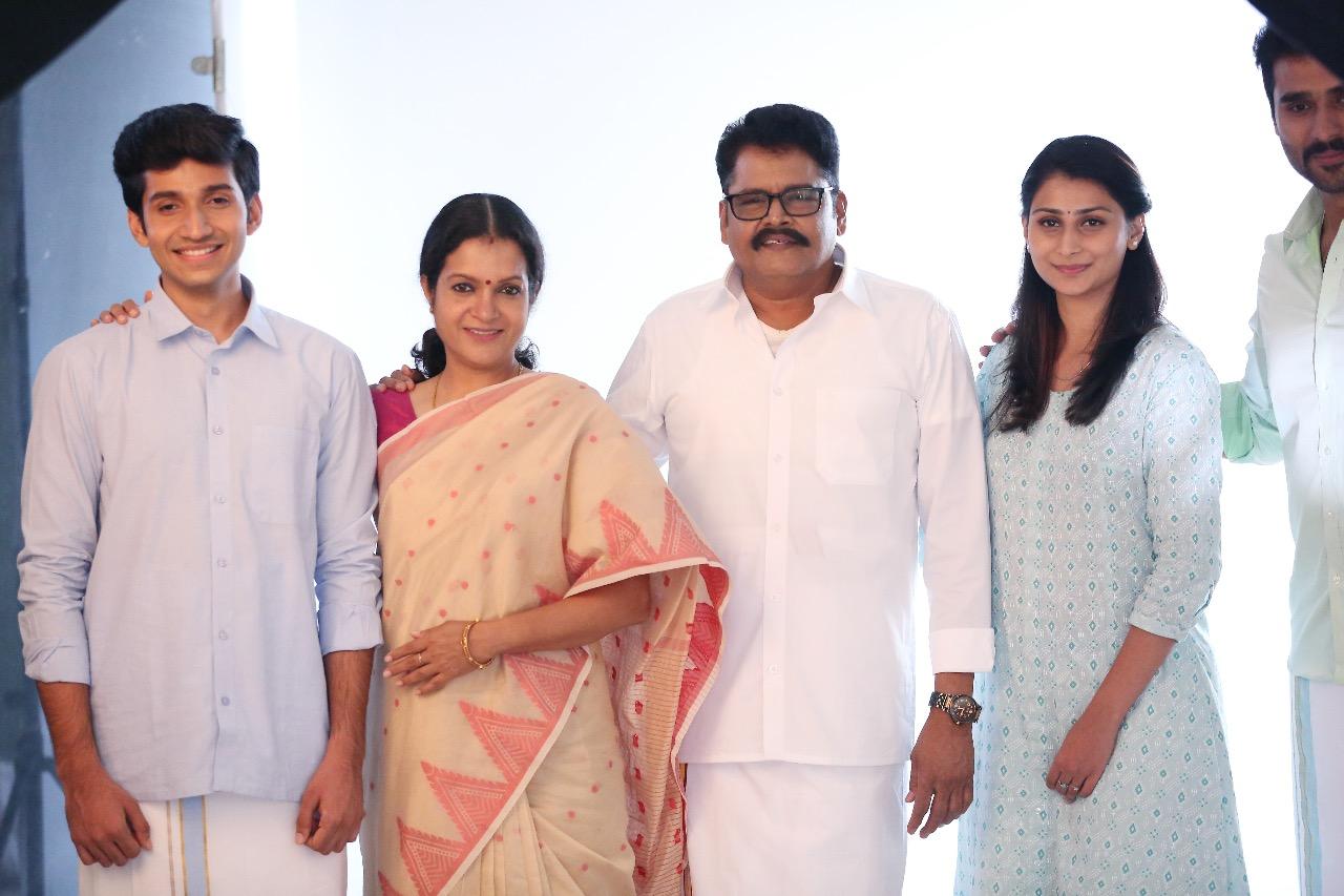 Director KS Ravikumar in Jansons Reversible Dhoti Ad