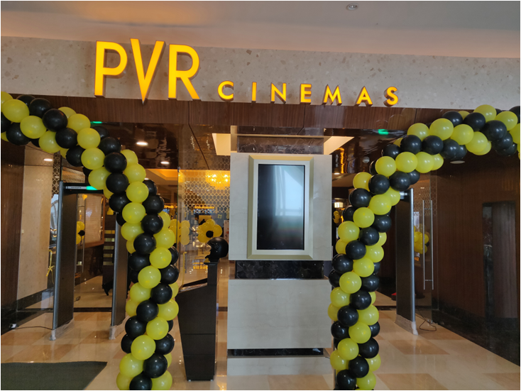 PVR Cinemas SKLS Galaxy Mall Red Hills Launched