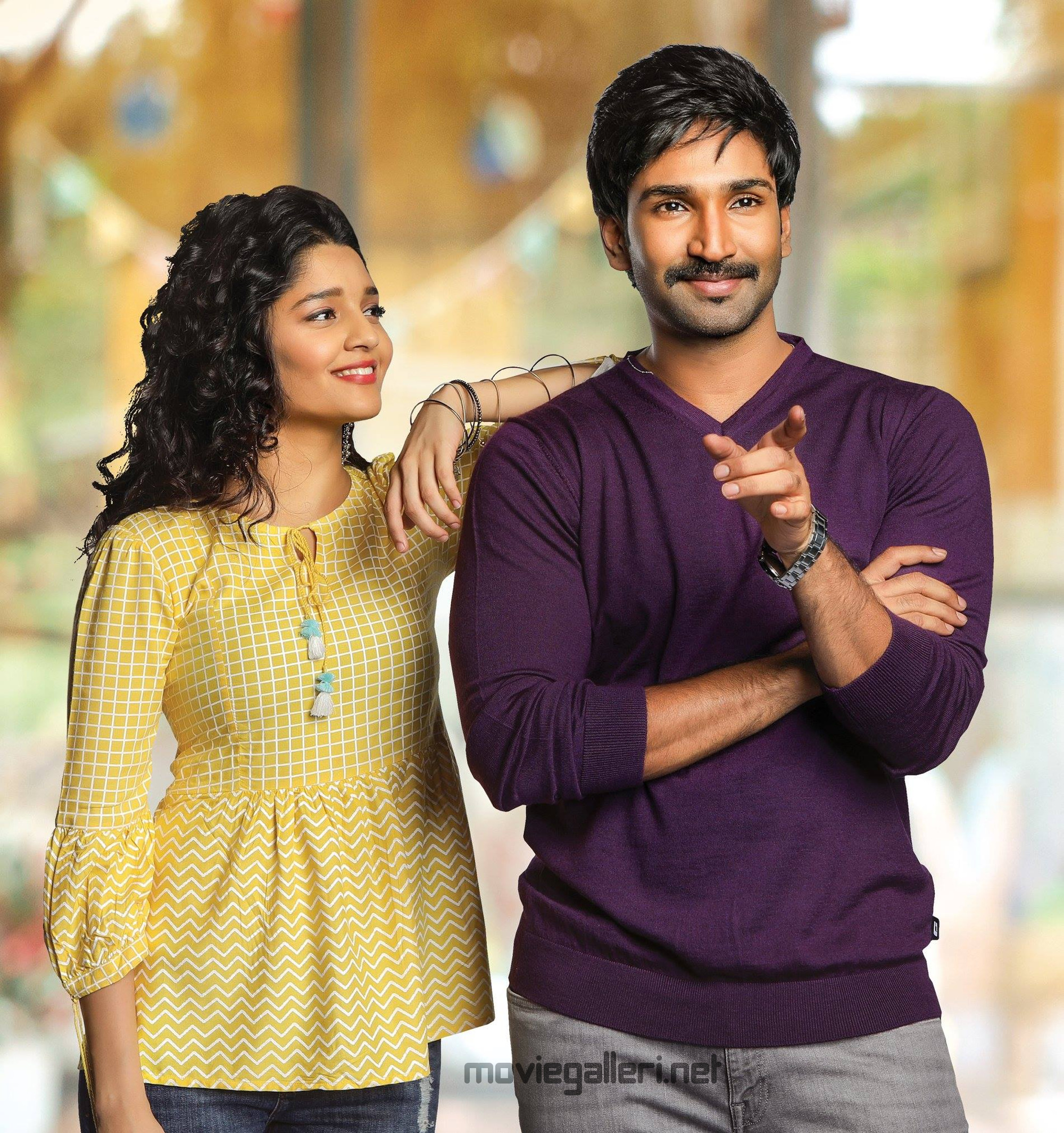 Ritika Singh, Aadhi in Neevevaro Movie HD Pics