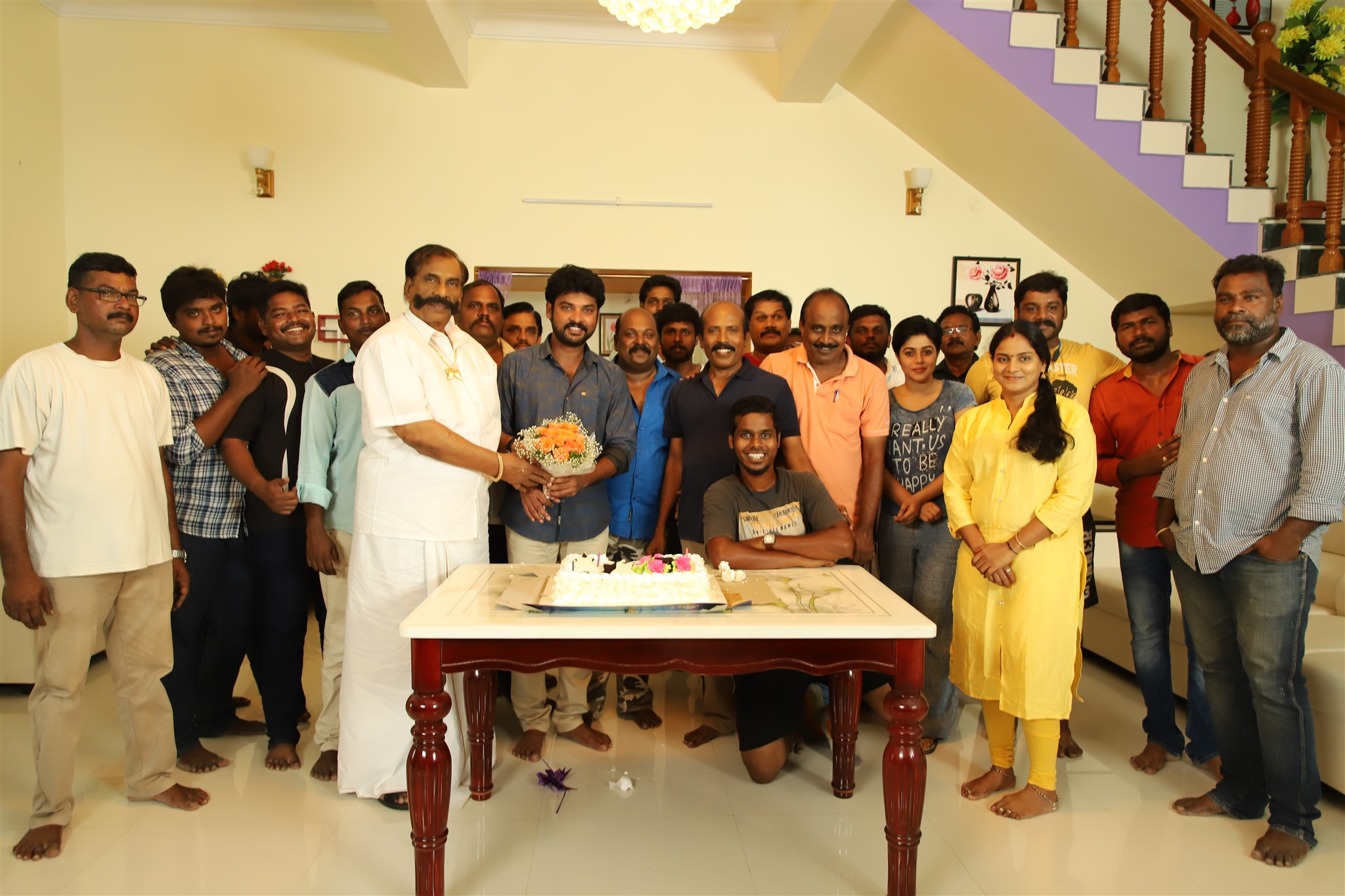 Tamil Actor Vimal Birthday Celebrations 2018 Stills