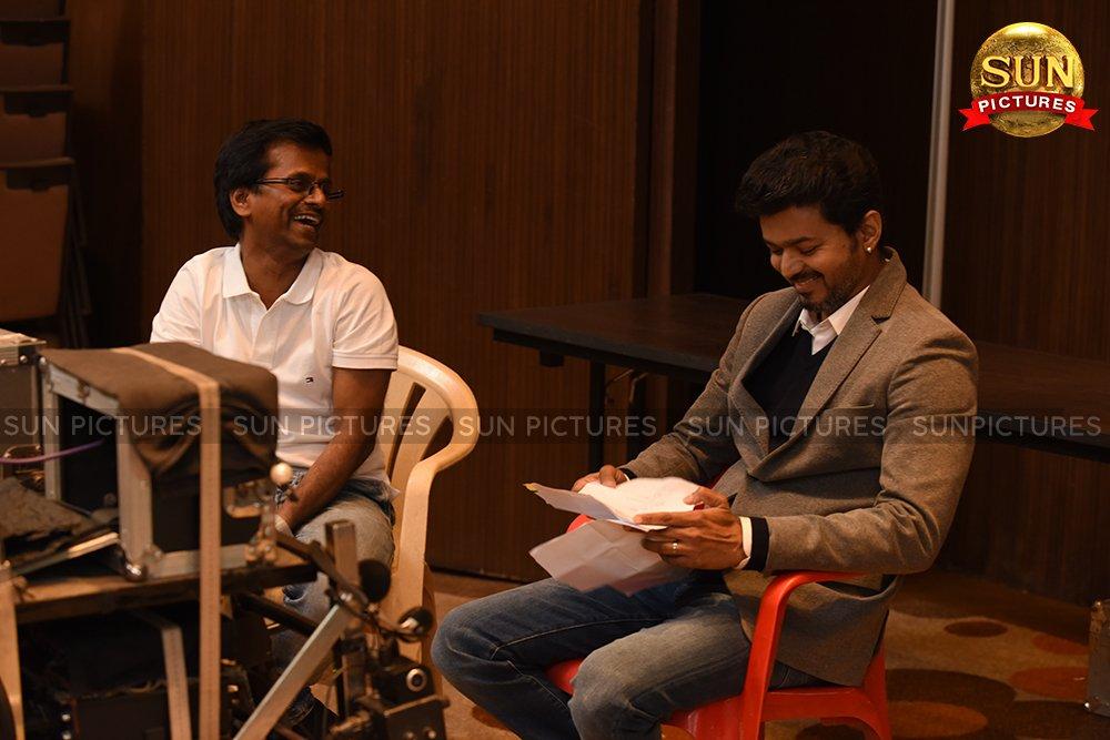 AR Murugadoss Vijay Sarkar Movie Working Still #5