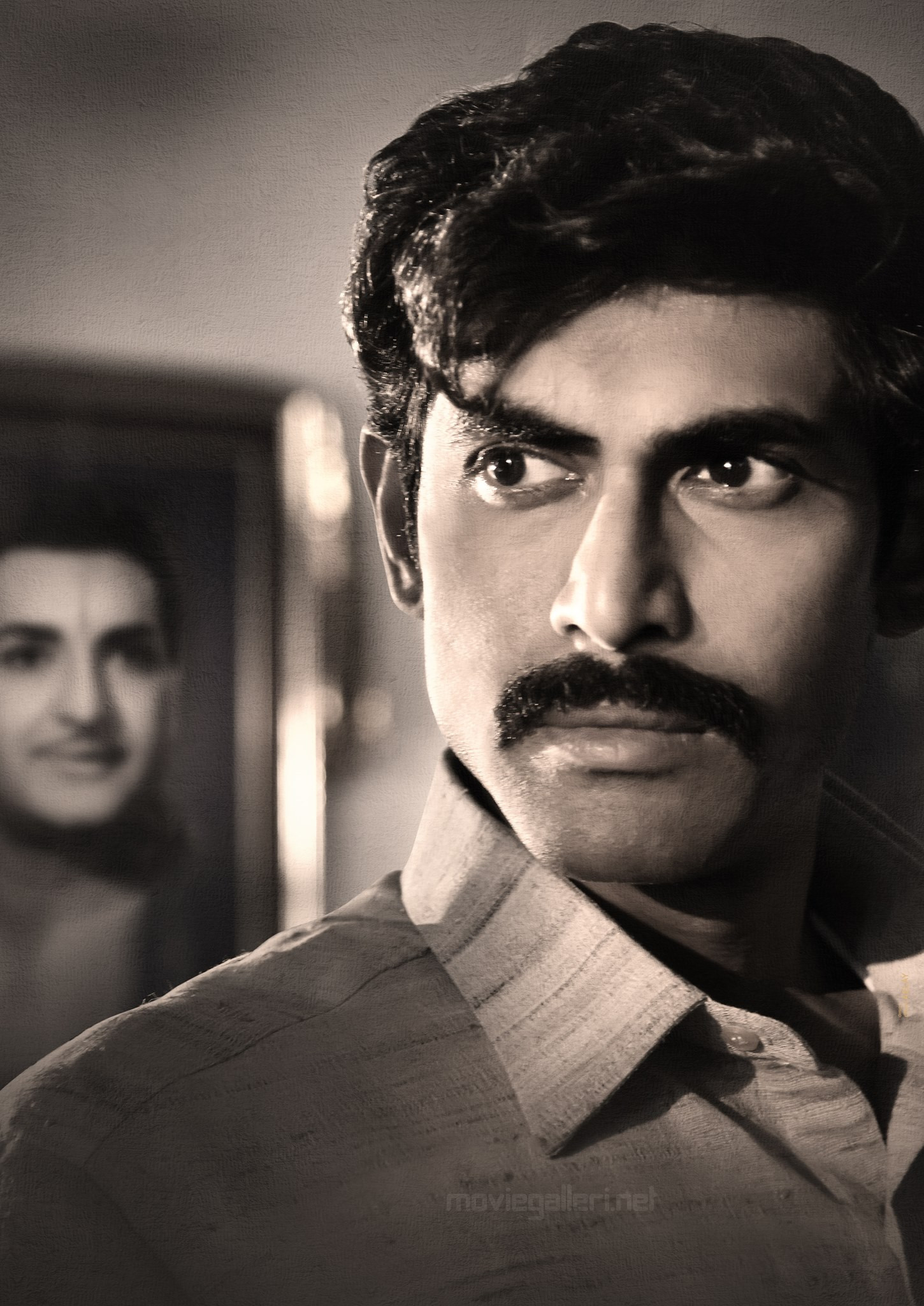 Actor Rana Daggubati as Nara Chandrababu Naidu from NTR Biopic Film