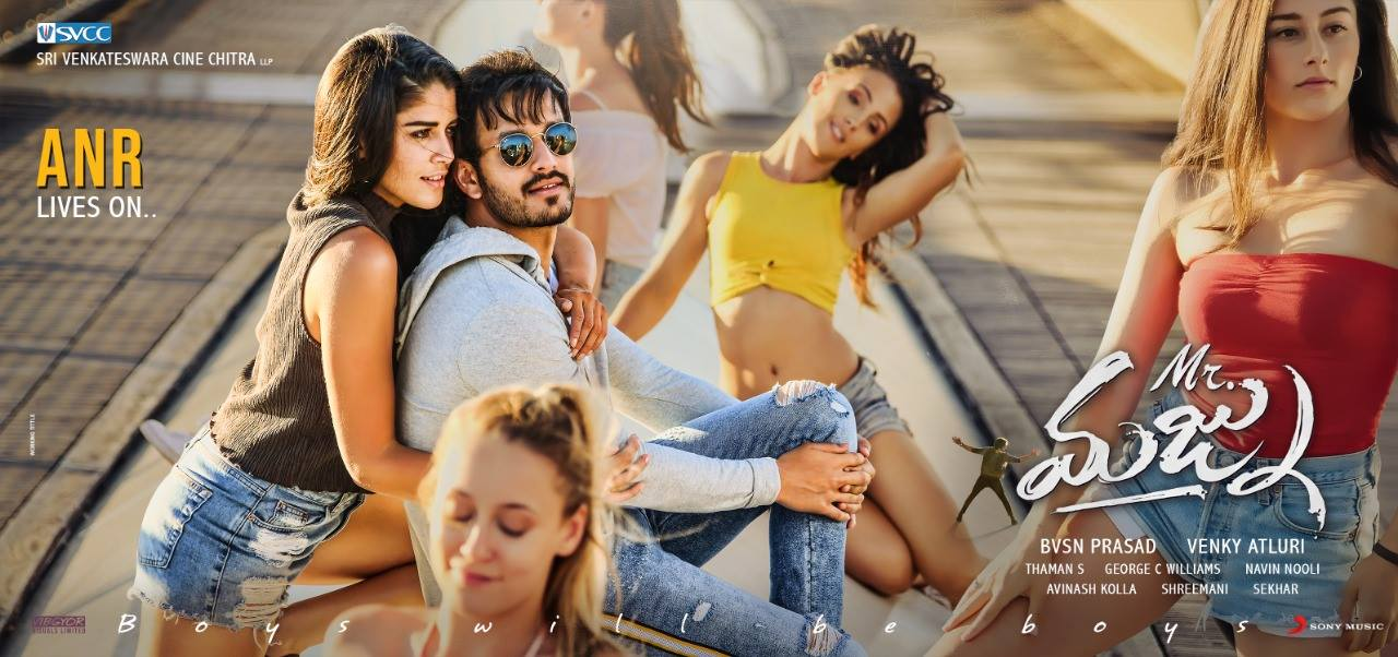 Akhil Akkineni Mr. Majnu first look poster