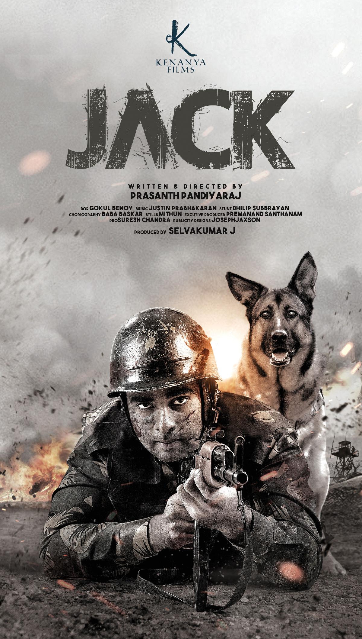 Ashok Selvan Jack Movie First Look