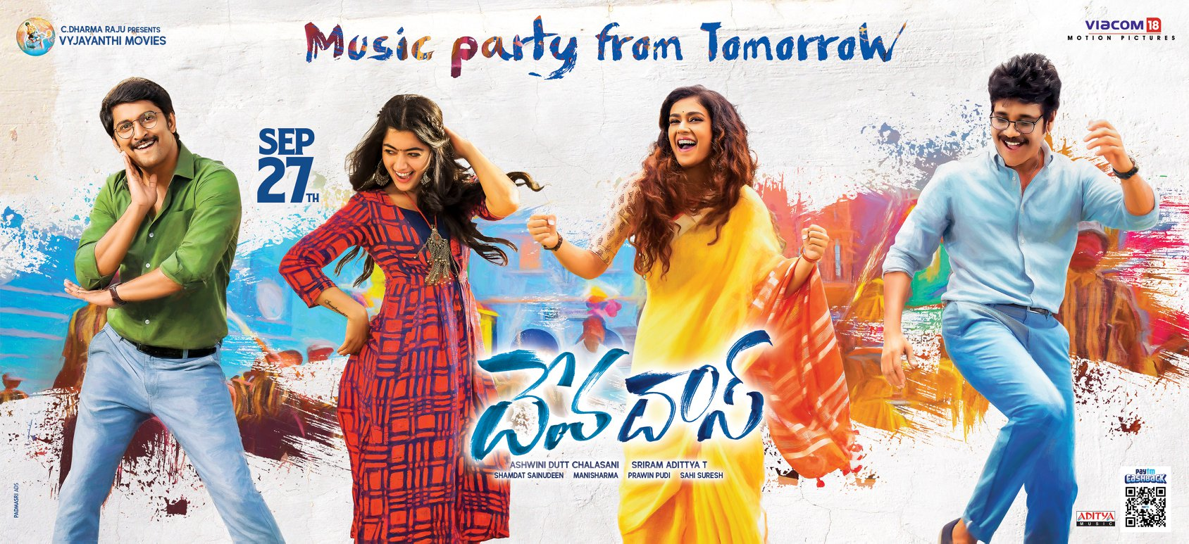 Devadas Music Party from Tomorrow Poster