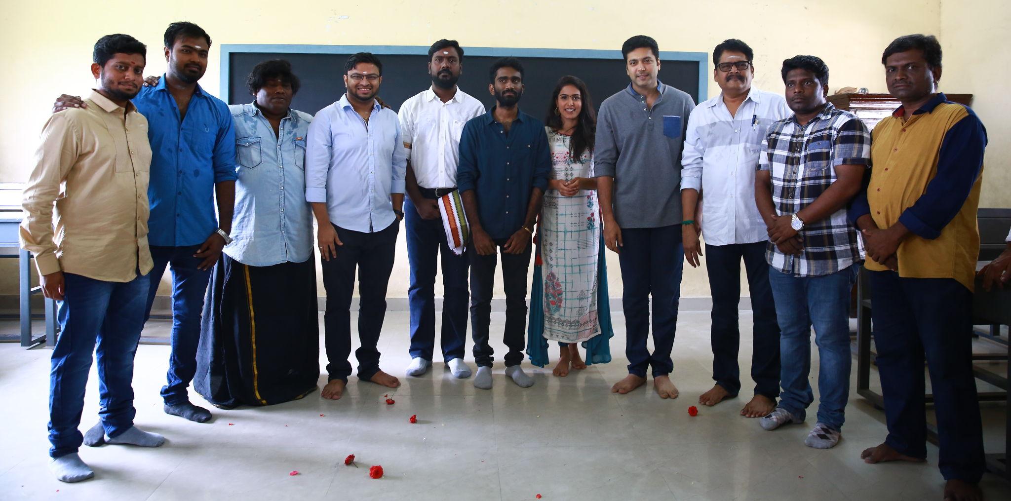 Jayam Ravi Kajal Agarwal Movie Shooting Started