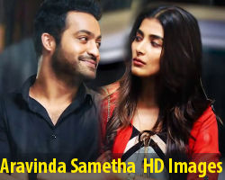 Jr NTR Pooja Hegde Aravinda Sametha Movie HD Images