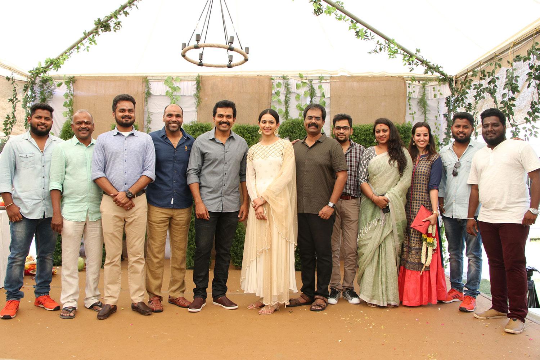 Karthi's Dev Shooting cancelled in KuluManali