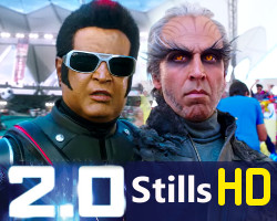 Rajinikanth Akshay Kumar Amy Jackson 2point0 Movie Stills HD