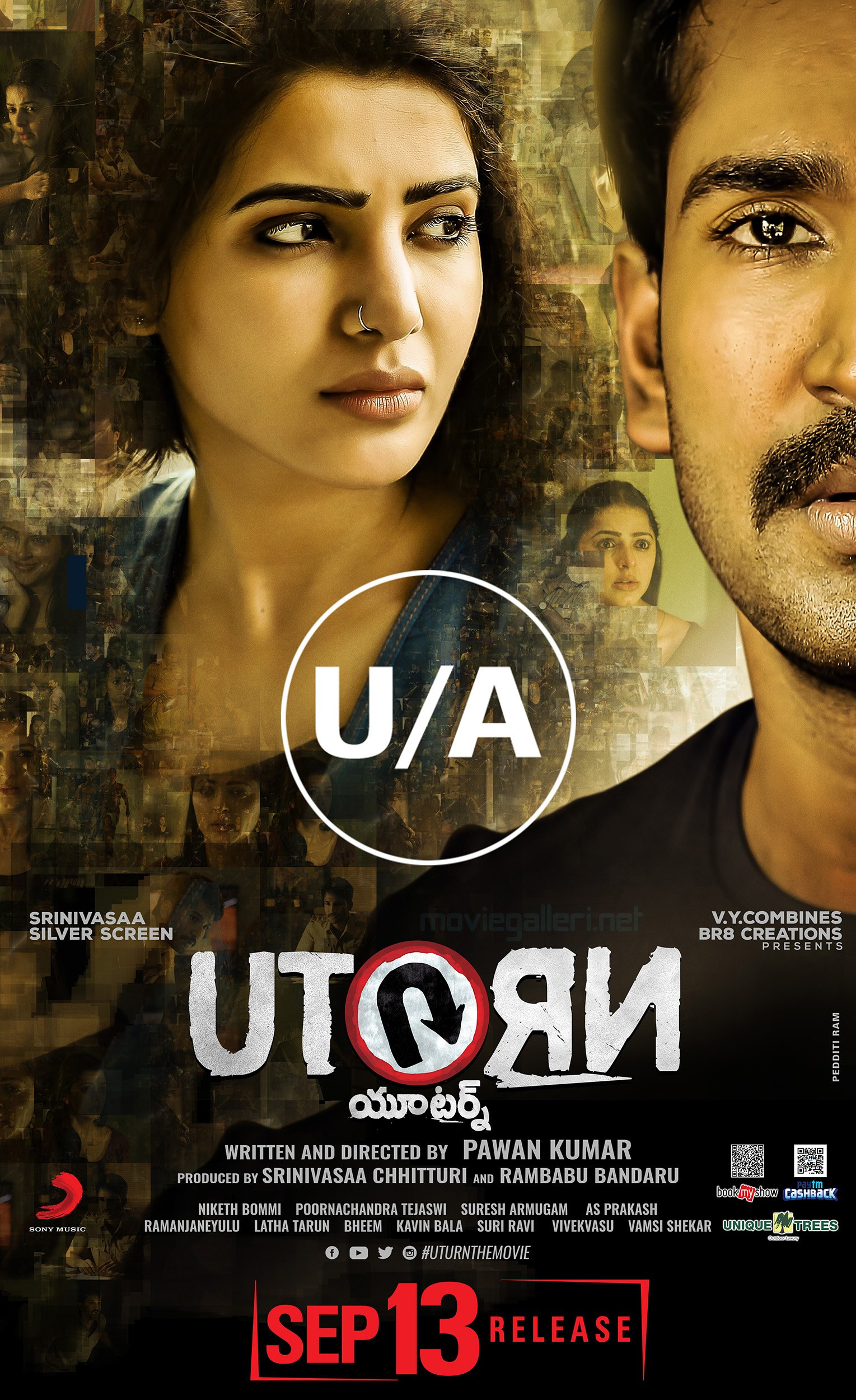 Samantha 'U Turn' completes censor with UA certificate