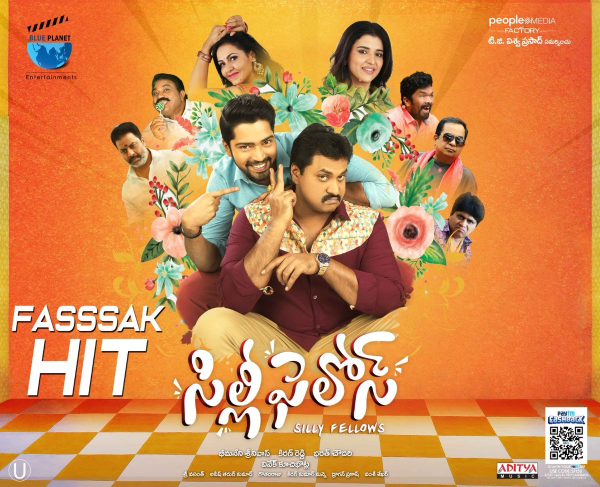 Silly Fellows Movie Fassak Hit Posters