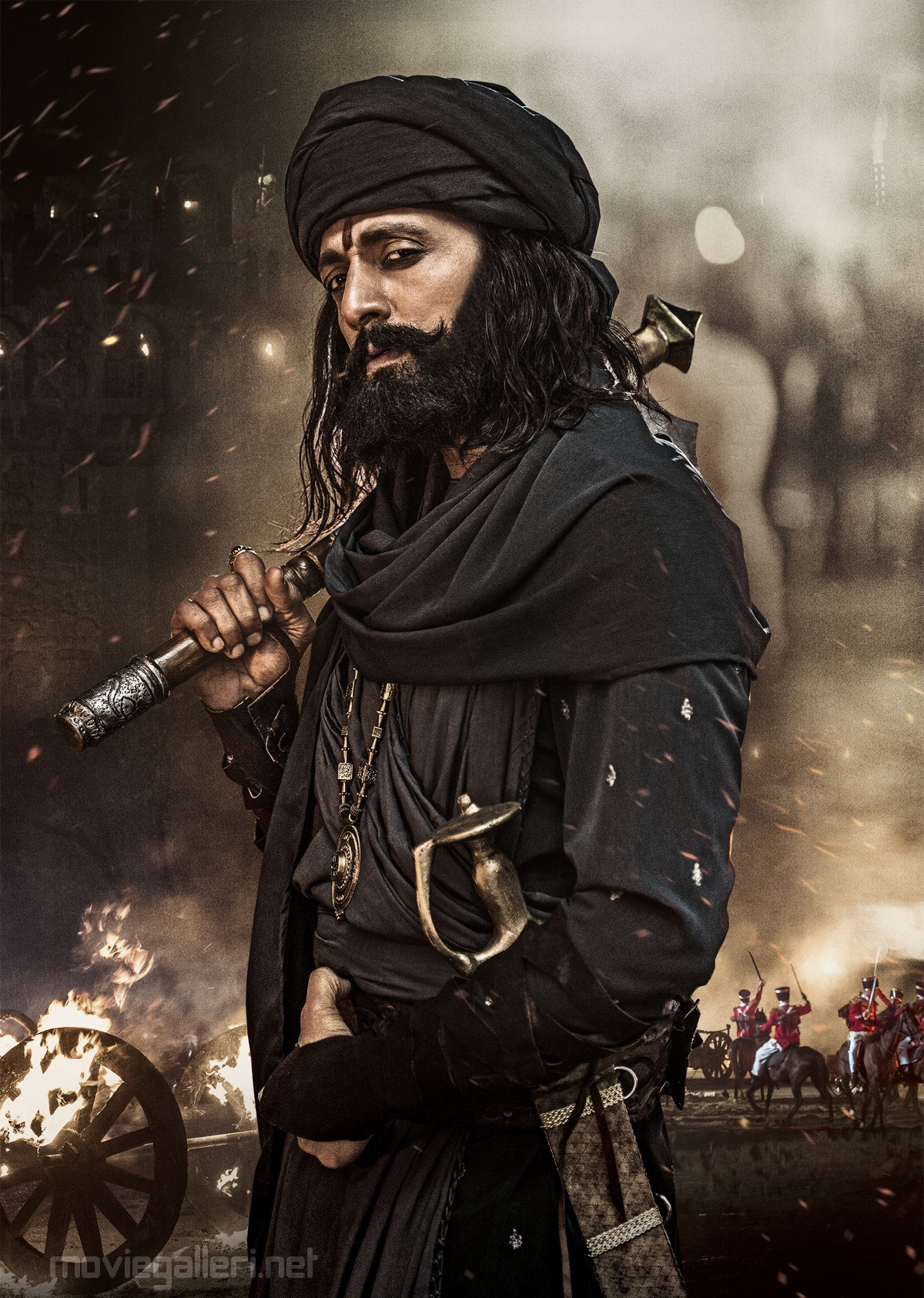 SyeRaa Narasimha Reddy Movie Sudeep as Avuku Raju HD Image