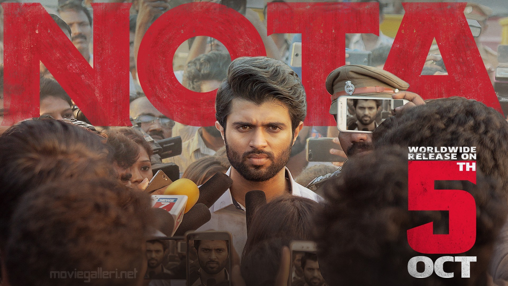 Vijay Devarakonda 'NOTA' Movie Release Date on Oct 5th
