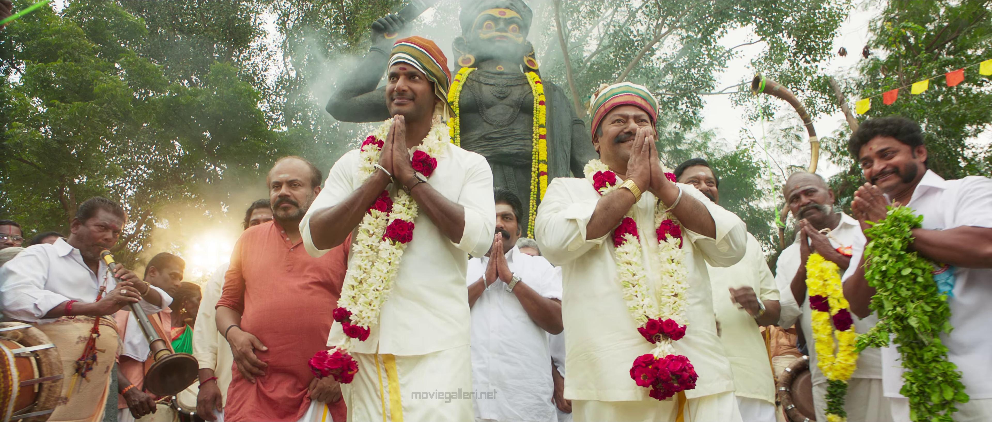 Vishal Raj Kiran in Sandakozhi 2 Movie Stills