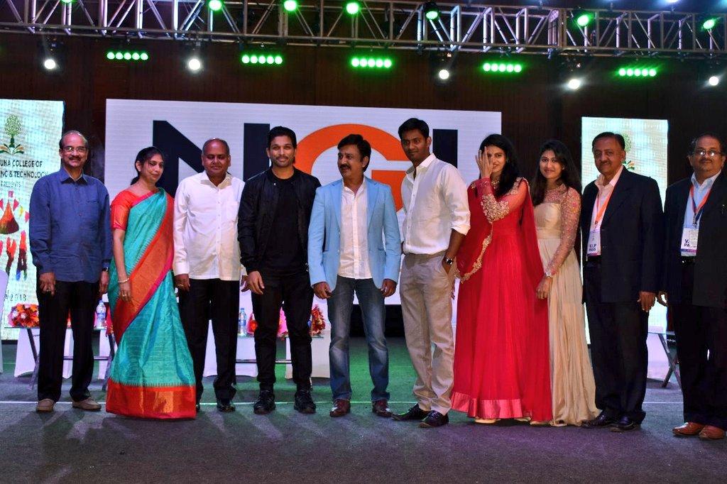 Allu Arjun Felicitated @ IKYA FIESTA 2018 Bangalore