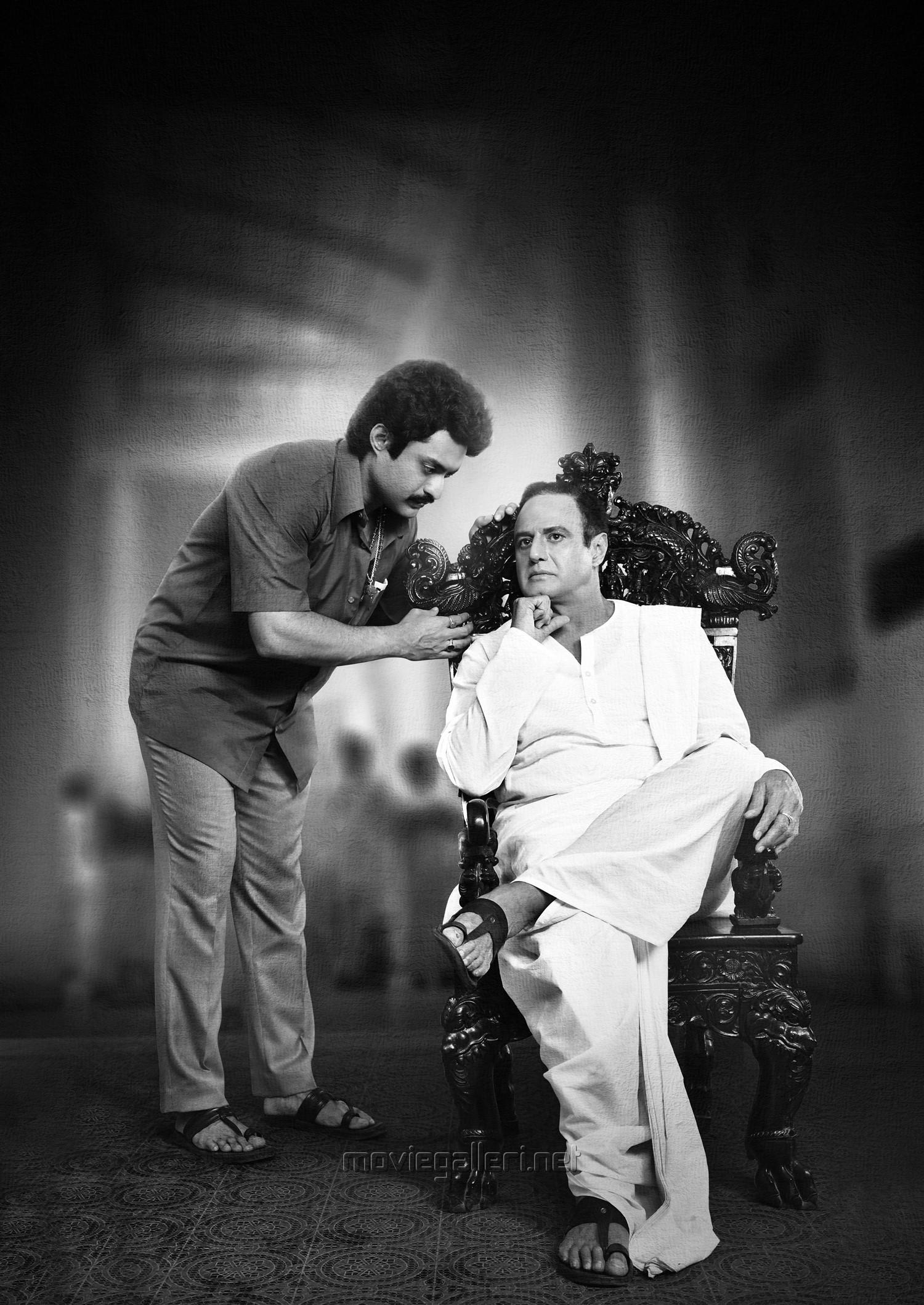 """Balakrishna and Kalyan Ram """"NTR Biopic"""" Movie HD Image"""