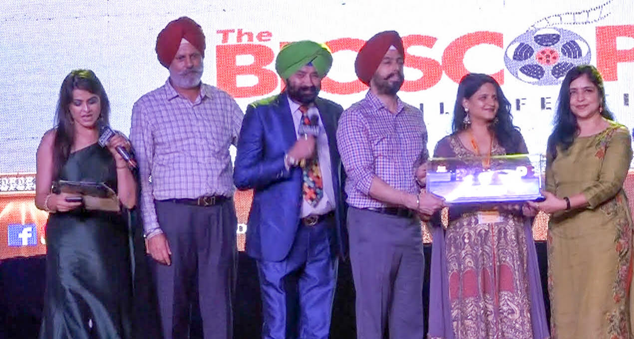 'FANTASTIC FRIDAY' received the special mention award at the Bio-scope Global Film Festival, Punjab