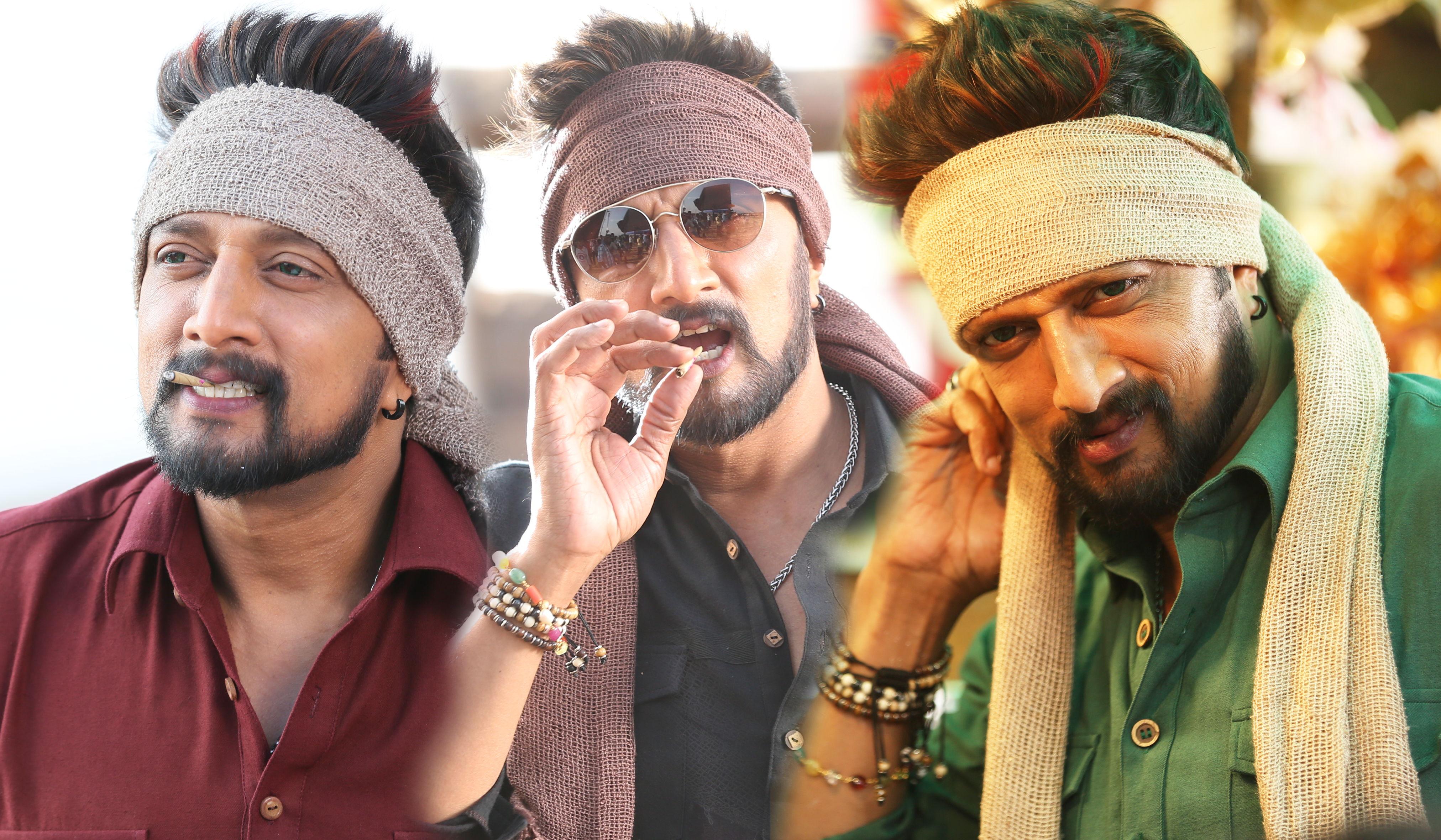 Kiccha Sudeep The Villain Movie Hd Images Photos Amy Jackson