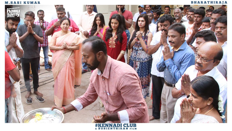 Meenakshi, Gayathri, Neethu @ Kennedy Club Movie Pooja Stills