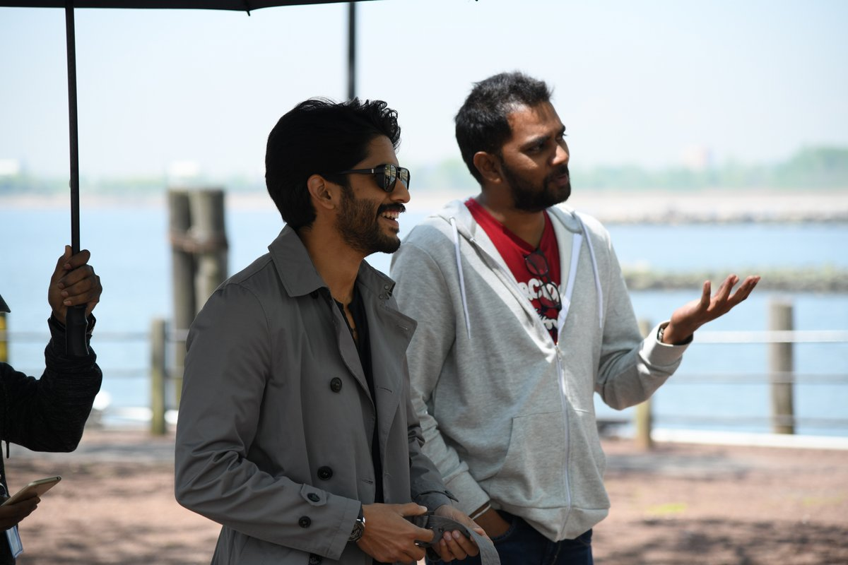 Naga Chaitanya, Chandoo Mondeti @ Savyasachi Movie Why Not Song Working Stills