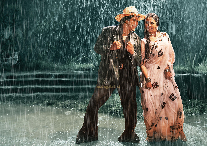 Nandamuri Balakrishna & Rakul Preet Singh @ NTR Kathanayakudu Movie HD Image