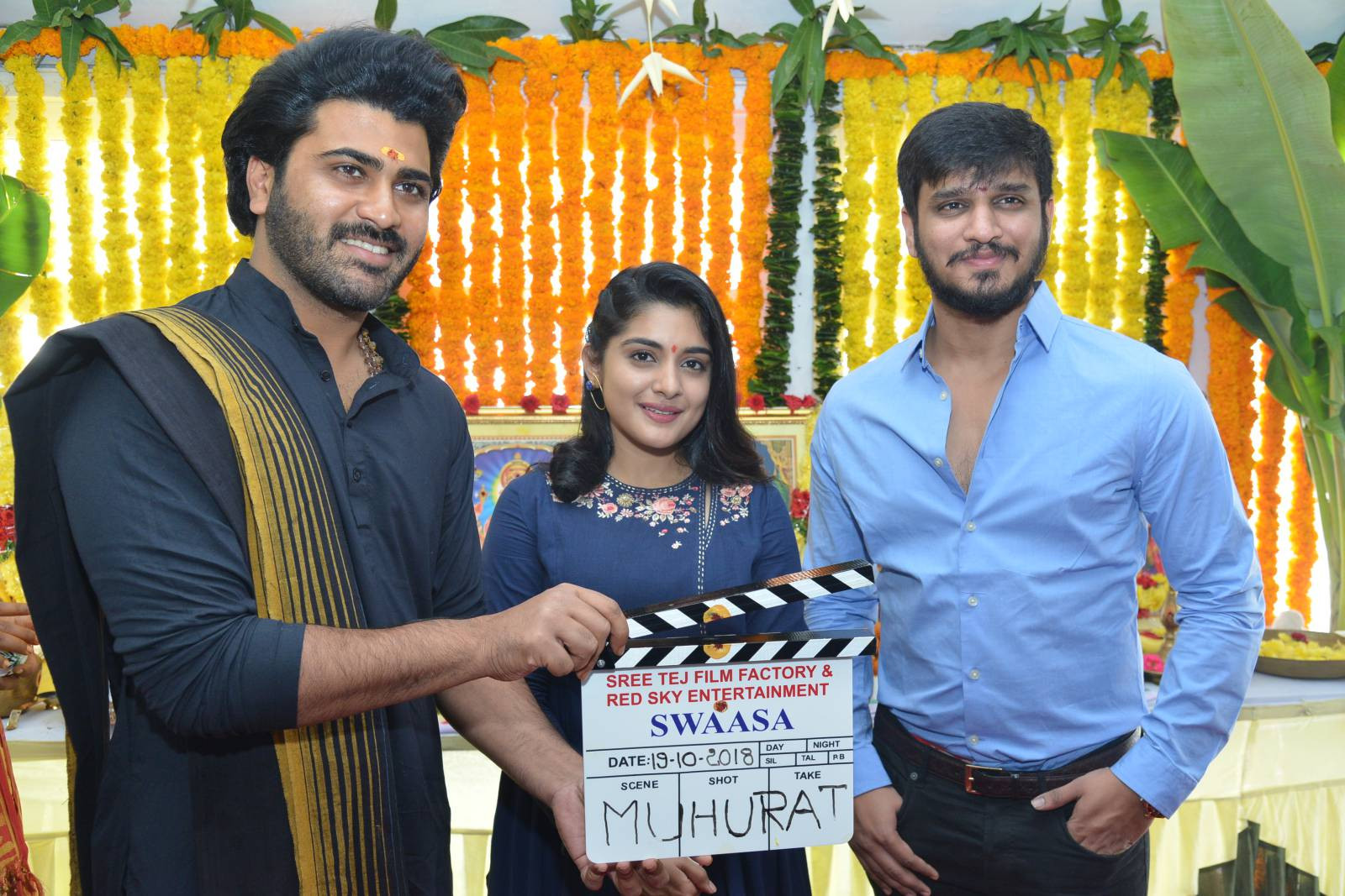 Nikhil Siddharth's Swaasa film launched today
