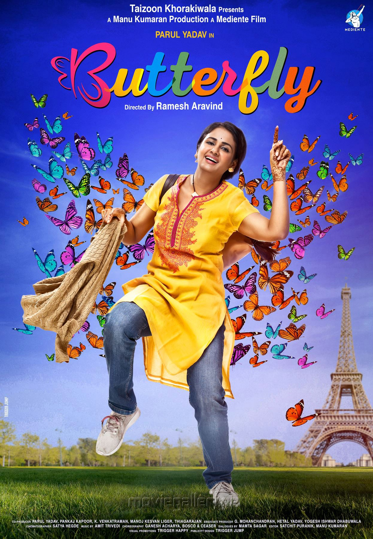 Parul Yadav Butterfly Movie First Look Posters HD