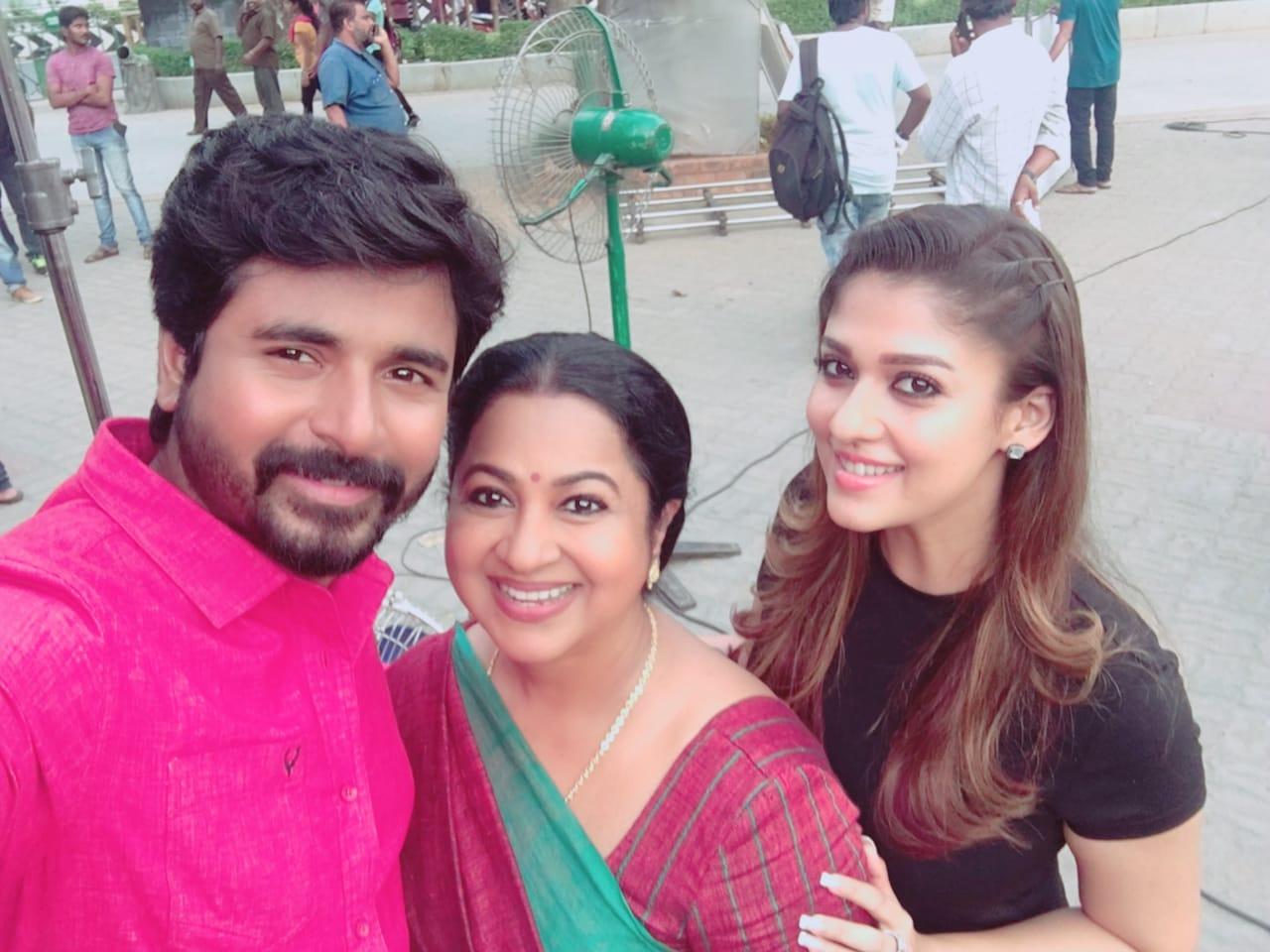 Radhika Sarathkumar joins Sivakarthikeyan-Nayanthara starrer 'SK 13'