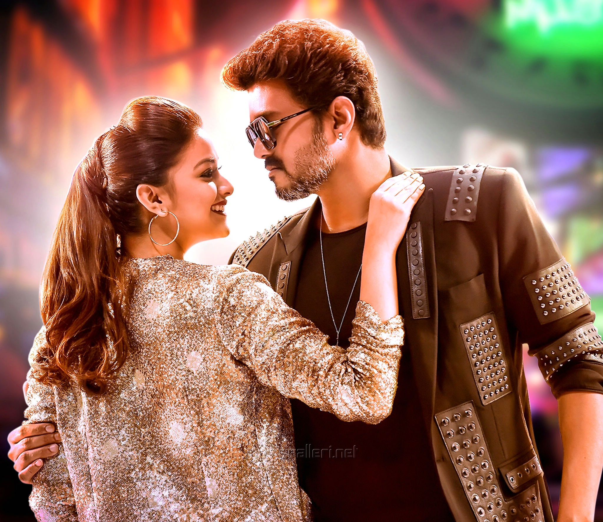 Sarkar Latest Hd Images Vijay Keerthy Suresh New Movie Posters