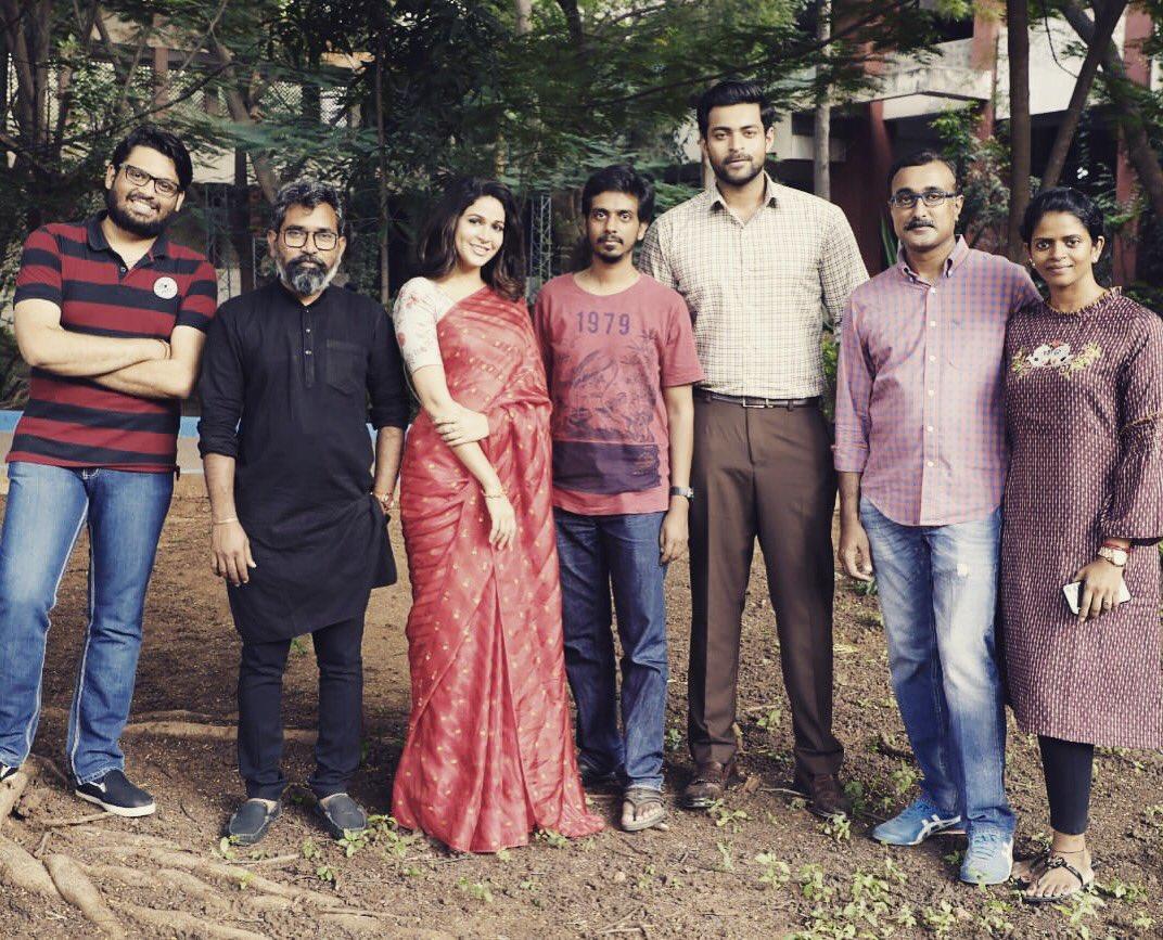 Varun Tej, Aditi Rao Hydari and Lavanya Tripathi starring 'Antariksham 9000 KMPH' has completed its shooting