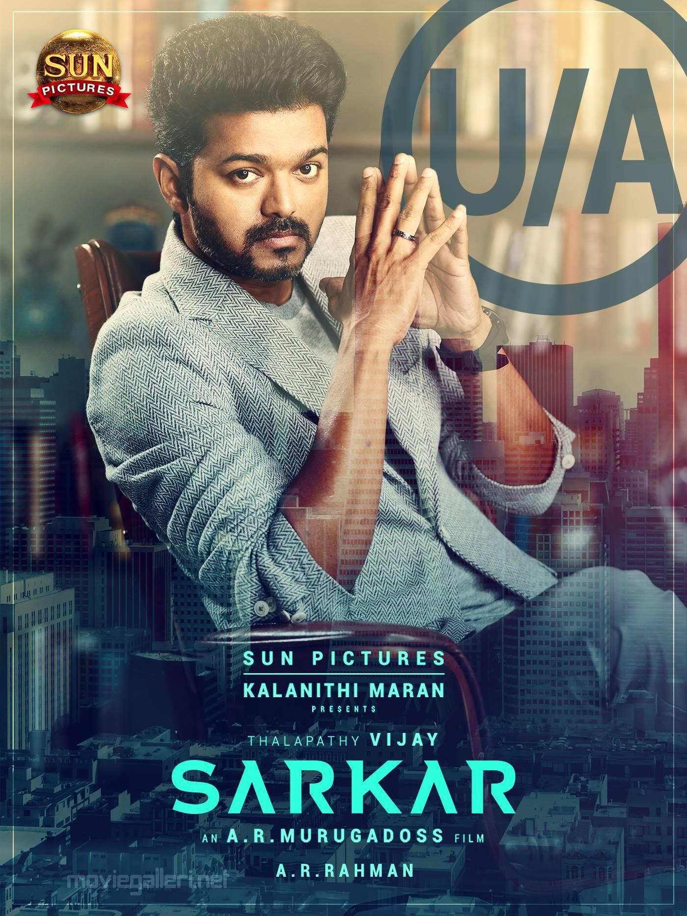 Vijay Sarkar movie censored UA certificate Poster HD