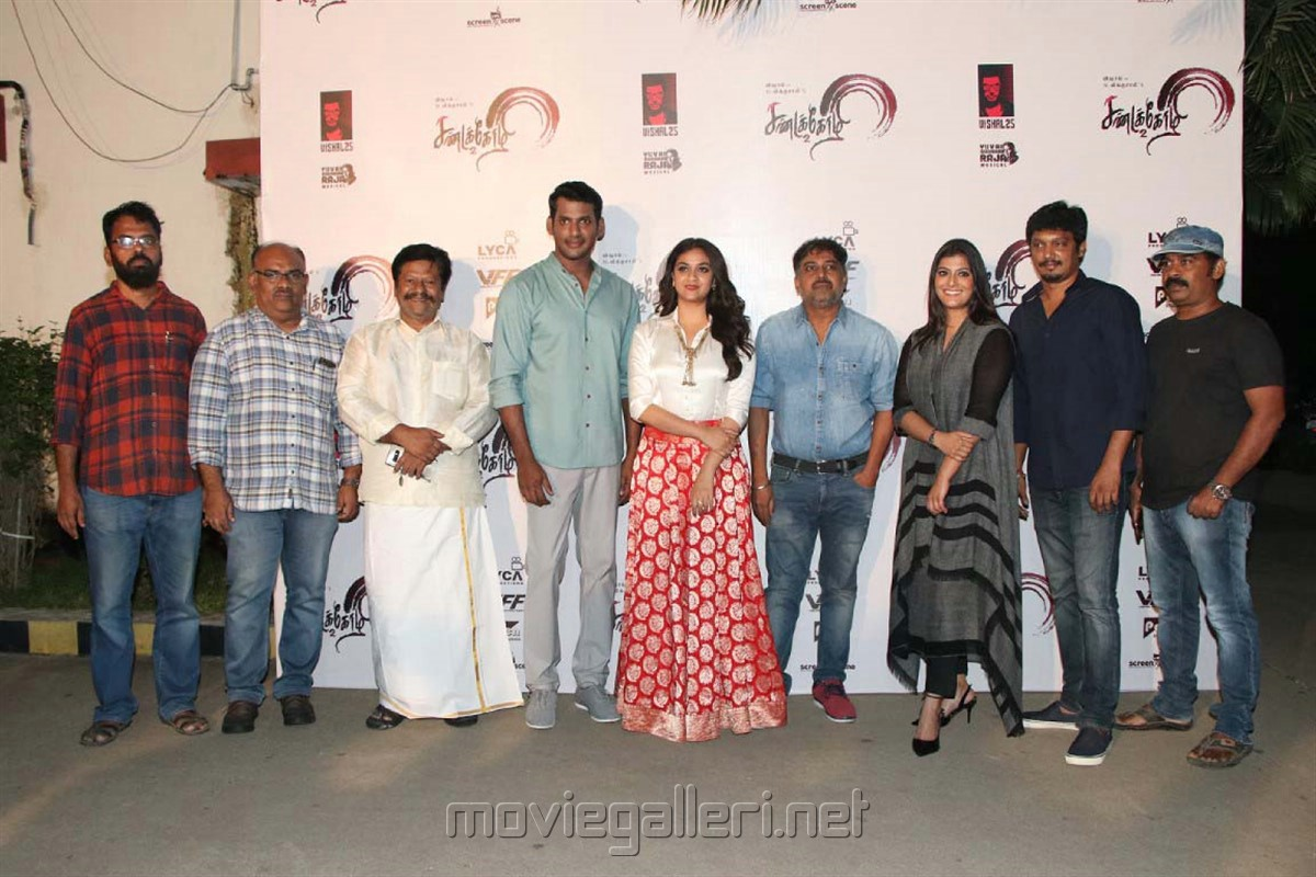 Vishal's Sandakozhi 2 Pre-Release Event Press Note