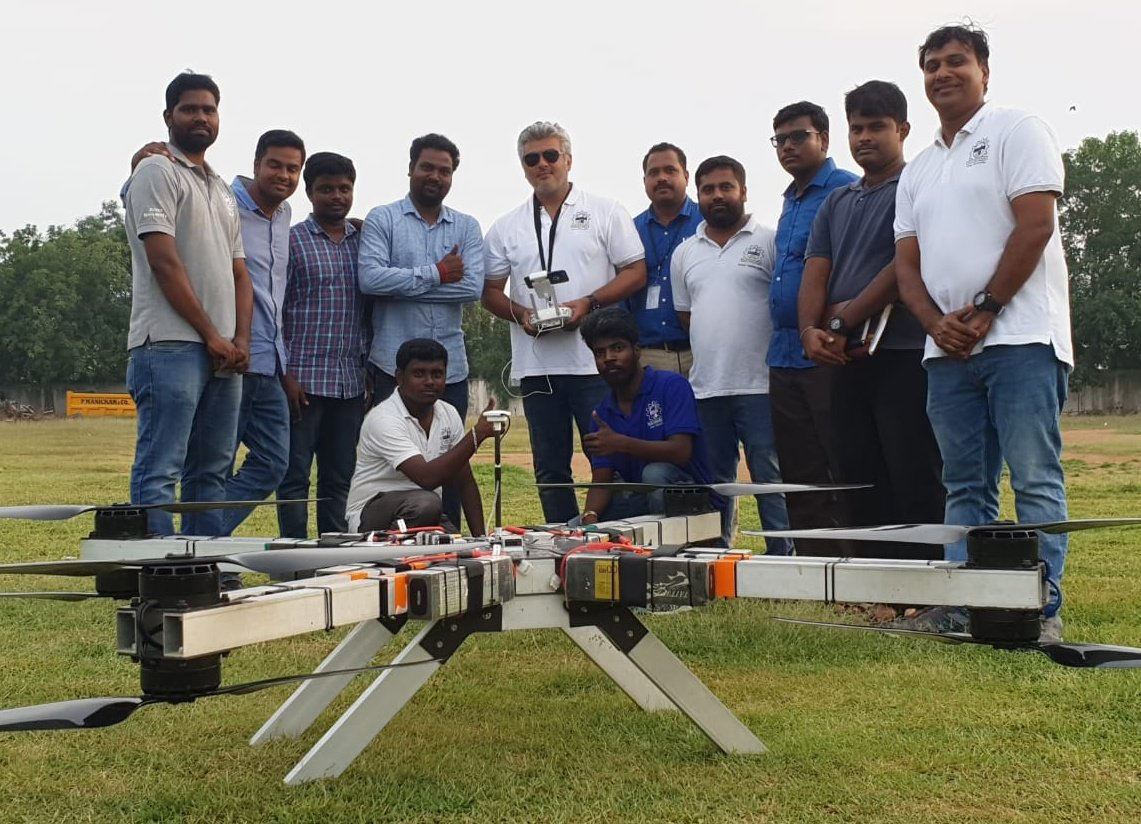 Actor Ajith joins team Daksha