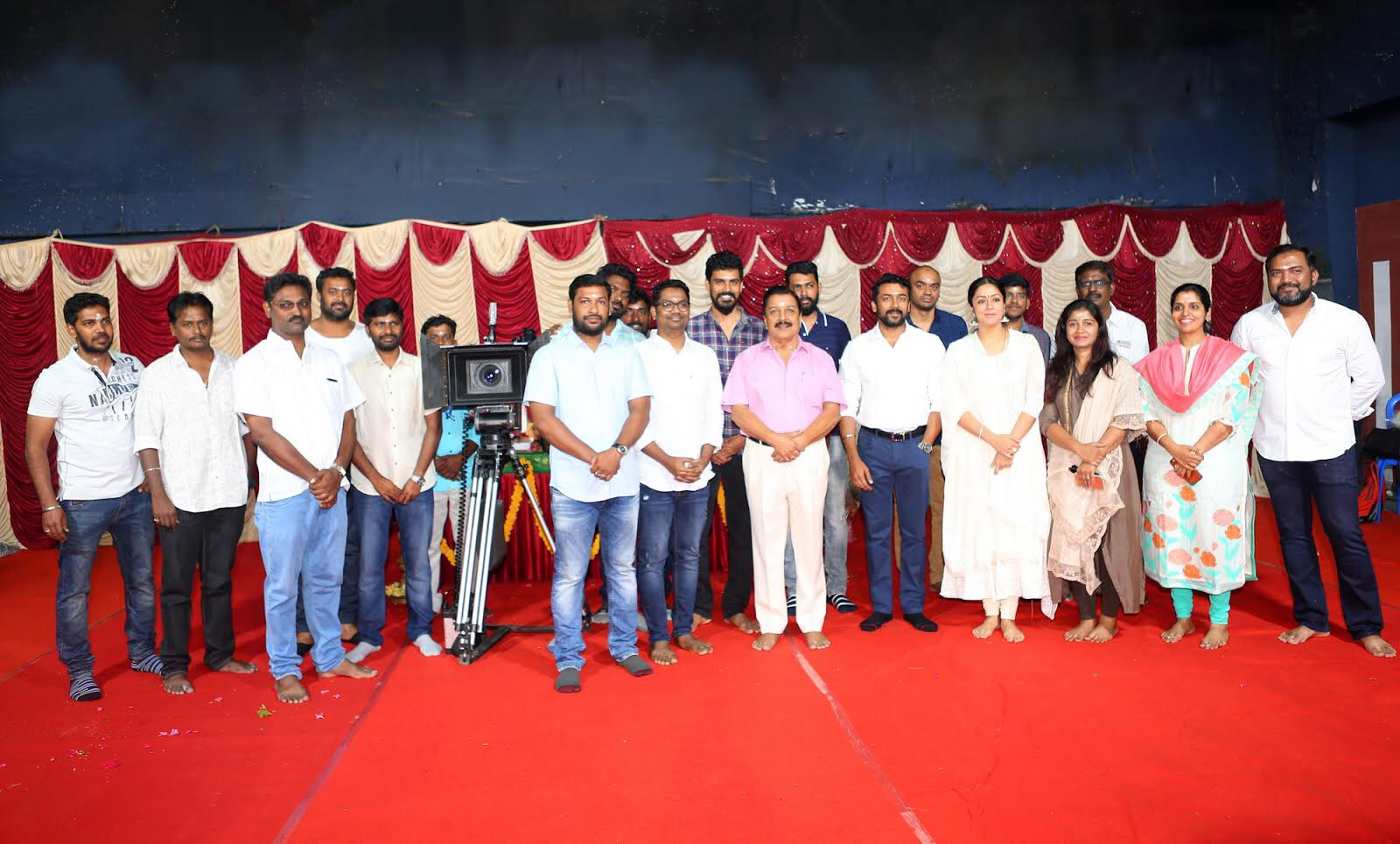 Actress Jyothika Dream Warrior Pictures 21st Film Launched