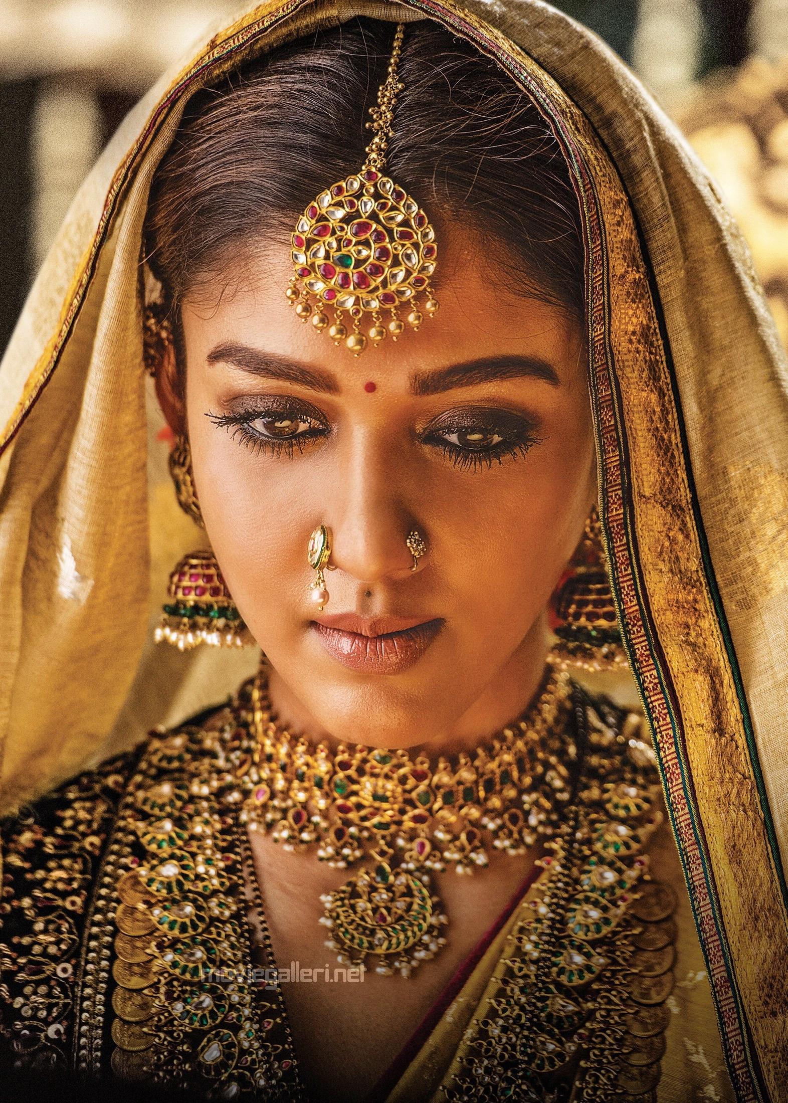 Actress Nayanthara as Princess Siddhamma in Sye Raa Narasimha Reddy Movie
