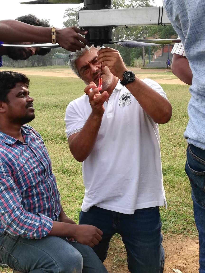 Ajith joins Daksha team