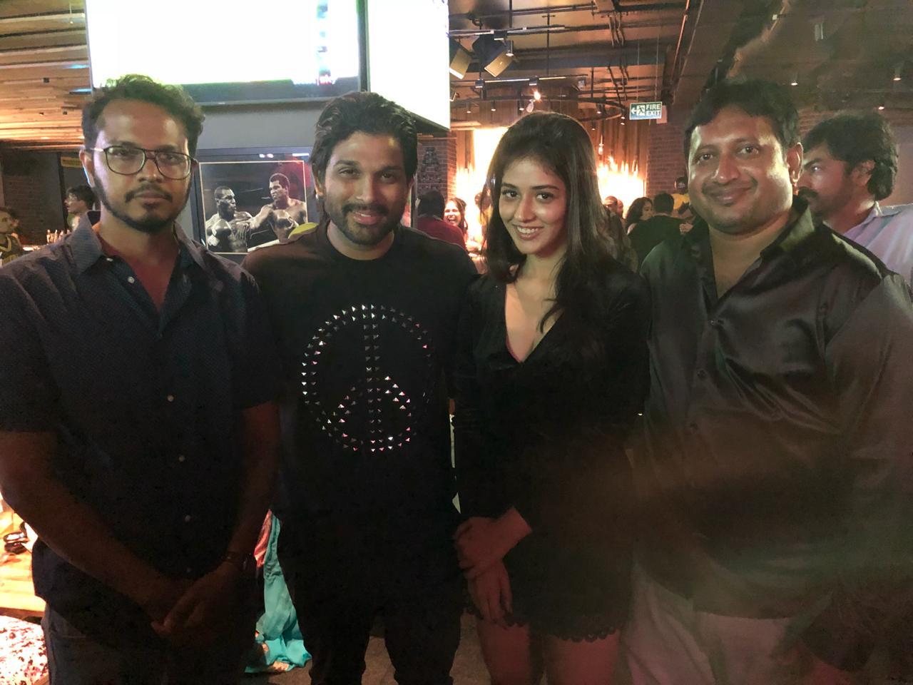 Allu Arjun threw a lavish party for Taxiwala Movie Team